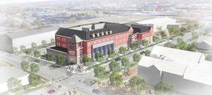 Ground has broken on the Cooper Robertson-designed Enterprise Center, Springfield, Missouri, for Drury University. Image courtesy Cooper Robertson