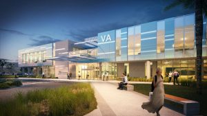 Hoefer Wysocki and US Federal Properties (USFP) have been selected to create a new community-based outpatient clinic for the U.S. Dept. of Veterans Affairs (VA) Texas Valley Coastal Bend Health Care System in Harlingen, Texas. Image courtesy Hoefer Wysocki
