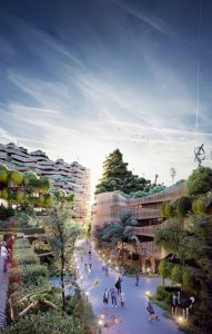 Architecture firm GG-loop brings biophilic regenerative architecture to Mitosis, a large-scale urban development in Amsterdam, Netherlands. Images courtesy GG-loop/Hexapixel