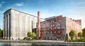 Construction has begun on the $65-million restoration of the American Mill & Warehouse in Buffalo, New York. Image courtesy Generation Development Group