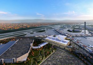 Luis Vidal, president and founding partner of international architecture practice luis vidal + architects, spoke to The Construction Specifier about how airport design will change following the pandemic. Images © Gensler and HDR/luis vidal + architects