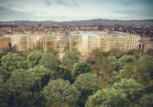 For the redesign of Italian energy company Enel's historic headquarters in Rome, Italy, Antonio Citterio Patricia Viel (ACPV) placed corporate welfare, urban regeneration, innovation, and sustainability at the heart of the project. Images courtesy ACPV