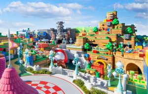 The Super Nintendo World theme park will open at Universal Studios Japan on February 4, 2021, in Osaka, Japan. Image © Nintendo