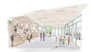 CetraRuddy has been tapped to design a new, 800-student K-12 school campus on Staten Island, New York, for Integration Charter Schools. Image courtesy CetraRuddy