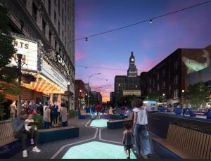 A new master plan for Davenport, Iowa, is offering a model for energizing small-city downtowns across the United States. Image courtesy Downtown Davenport Partnership