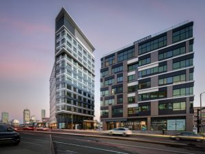 With Boston's Bower mixed-use complex, The Architectural Team (TAT) showcases urban transformation and innovation. Photo courtesy TAT