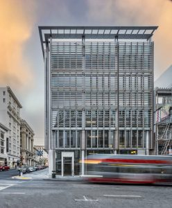 MBH Architects completes 300 Grant Ave, marking the first new ground-up development in San Francisco's Union Square in over 20 years. Image courtesy MBH Architects