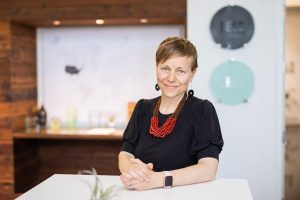 Heidi Creighton, architect and associate principal with Buro Happold, has been elevated to College of Fellows of the American Institute of Architects (AIA). Photo courtesy Buro Happold