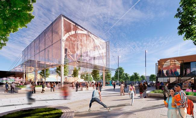 SOM designs entrepreneurial and community hub in Chicago