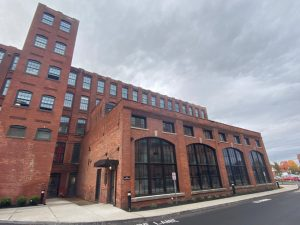 The Mason Square Apartments II at Indian Motorcycle project in Springfield, Massachusetts, utilized high-performance windows for energy efficiency and occupant comfort. Photo courtesy of Diamond Windows & Doors/Technoform