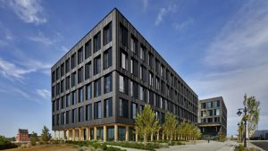 The Catalyst Building in Spokane, Washington, is one of two projects recognized by the American Institute of Architects (AIA) in its 2020 Innovation Awards.