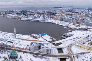 Finland announces the next steps for planning a new museum for architecture and design in Helsinki. Photo courtesy Ilmakuvaus Ruohonen