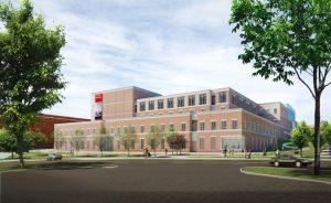 Skanska selected to build Radford University's $80.5 million Center for Adaptive Innovation and Creativity in Virginia. Image courtesy Skanska