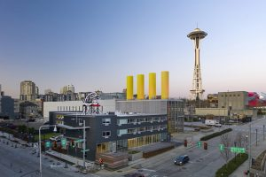 Wittman Estes designs Civic Hotel, a newly renovated boutique hotel in the rapidly developing South Lake Union neighborhood in Seattle, Washington. Photo courtesy Nic Lehoux