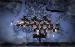 Skylab Architecture has revealed prefabricated designs for the A-Frame Club, a new hotel concept coming to Winter Park, Colorado, this winter. Image courtesy Skylab