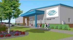 The Boys & Girls Club of South Elgin, Illinois, has begun construction. Photo courtesy Boys & Girls Club