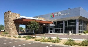 Adolfson & Peterson Construction has completed the 3251-m<sup>2</sup> (35,000-sf) Abrazo Cave Creek Hospital in Cave Creek, Arizona. Rendering courtesy Abrazo Health
