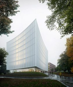Danish architecture firm Cobe won an international competition to design a new university library in the heart of Gothenburg, Sweden. Photo courtesy Cobe