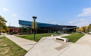 The SOS Children's Village Roosevelt Community Center (Chicago, Illinois) by raSmith won first place in the 'Residential/Hospitality' category in the 2021 Cold-Formed Steel Engineers Institute (CFSEI) Design Excellence awards. Photo courtesy JGMA