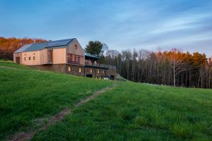 Seminary Hill Orchard & Cidery, Callicoon, New York, designed by River Architects, is the world's first Passive House certified cidery. Photo courtesy of Brad Dickson/River Architects, PLLC