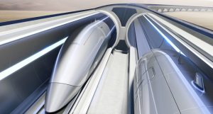 Zaha Hadid Architects (ZHA) and Hyperloop Italia will be jointly designing its next phase of works in Italy. Image © Hyperloop Transportation Technologies