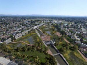 The Studio-MLA led Upper Los Angeles River and Tributaries Revitalization Plan (ULART) wins 2021 AZ Award from Azure Magazine. Image courtesy ULART/Studio-MLA