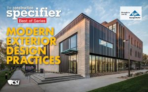 The Construction Specifier</em>'s series of sponsored ebooks continues with a technical discussion on modern exterior design practices.